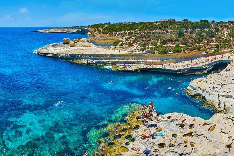 Stränder på Malta - våra tips!