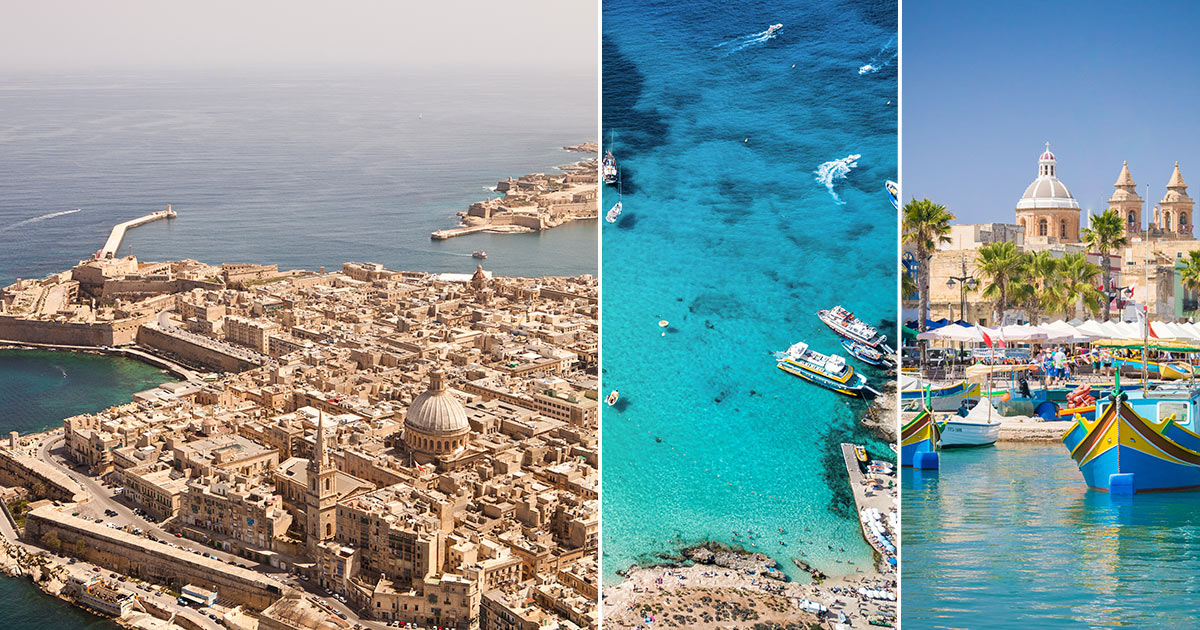 Malta - svensk reseguide