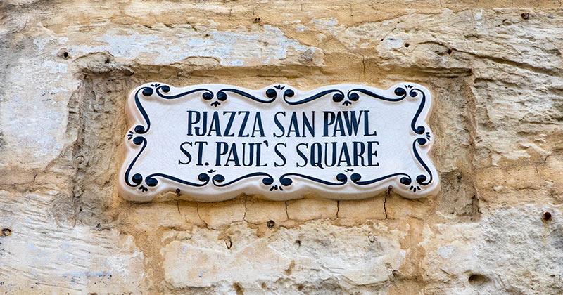 Språk på Malta - engelska och maltesiska