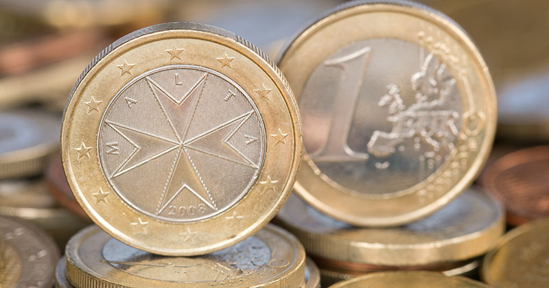 Malta - valuta pengar och bankomater