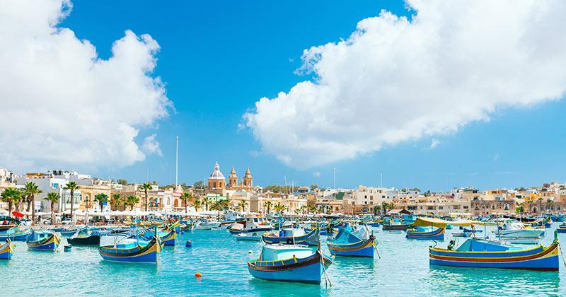Väder och temperatur på Malta