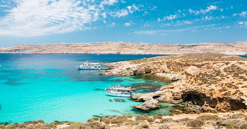 Comino - Maltas tredje största ö