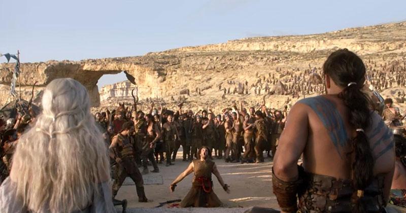 Game of Thrones Malta - inspelningsplatser
