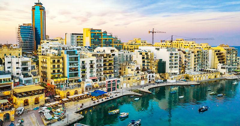 St Julians på Malta