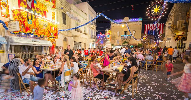 Festivaler på Malta